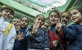 Filistinli çocukların Türkiye ve Erdoğan sevgisi