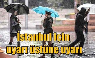 İstanbul için çifte uyarı; Yağmur ve fırtına etkili olacak