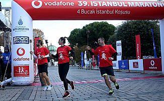 İstanbul Maratonu kapsamında hazırlık koşuları yapıldı