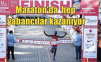 İstanbul Maratonu'nda yabancılar kazanıyor