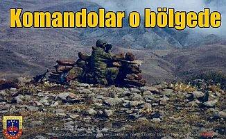 Jandarma komandolar o bölgeye indi: Bestler - Dereler'de sıcak takip