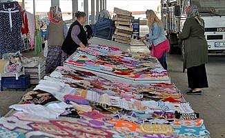 Kadınların emekleri 'Hanımeli Göz Nuru' pazarında