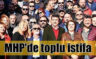 MHP Bodrum ilçe teşkilatında toplu istifa; 250 kişi birden ayrıldı