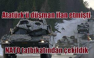 NATO'ya ve Norveç'e tatbikat resti; Türkiye çekildi