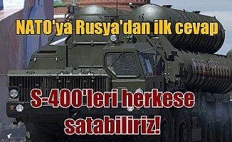 Rusya'dan NATO'ya S-400 cevabı; Bu konu Ankara ve Moskova'yı ilgilendirir