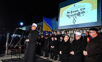 Saraybosna'da 'Selam ya Resulallah' etkinliği başladı