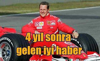 Schumacher'den 4 yıl sonra iyi haber