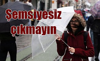 Son Dakika hava durumu; İstanbul için yağmur uyarısı var