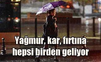 Son dakika hava durumu; Meteoroloji İstanbul'u uyardı