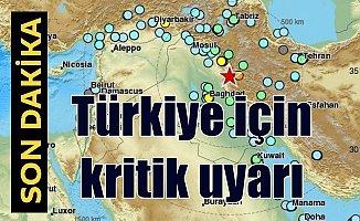 Son Depremler:  Bilim insanlarından Türkiye için kritik uyarı