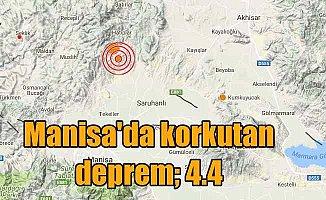 Son Depremler; Manisa Saruhanlı'da deprem: 4.4