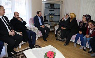 Soylu ve Albayrak'tan Eren Bülbül'ün ailesine ziyaret