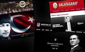 Spor kulüpleri Büyük Önder Atatürk'ü andı