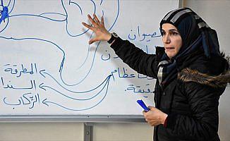 Suriyeli öğretmenlerin buruk Öğretmenler Günü