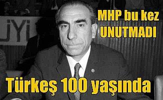 Türkeş 100 yaşında; MHP'de Türkeş için 100. yıl hazırlığı