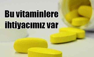 Vücutta İhtiyaç Duyulan Temel Vitaminler
