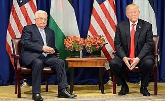 ABD Başkanı Trump, Abbas ile Kudüs'ü konuştu
