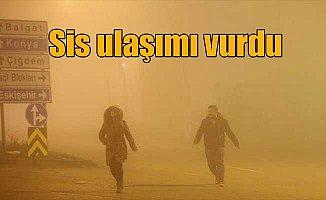 Ankara'da hava durumu; Sis ulaşımı vurdu