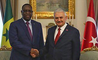 Başbakan Yıldırım, Senegal Cumhurbaşkanı Sall'i kabul etti