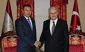 Başbakan Yıldırım, Tacikistan Başbakanı Rasulzoda ile görüştü