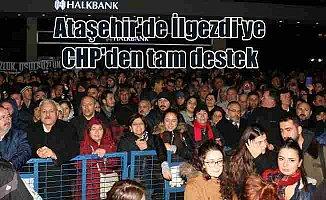 CHP'li vekillerden İlgezdi'ye tam destek