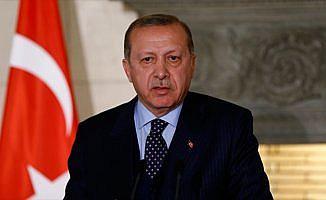 Erdoğan: Mazlum ve mağdurların yanında olmayı sürdüreceğiz
