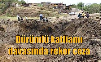 Dürümlü katliamı: PKK'lı teröristlere 17 kez müebbet istendi