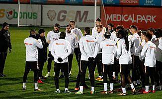 Fatih Terim'li Galatasaray, Göztepe maçına hazır