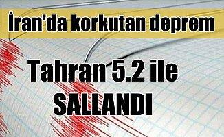 İran'da korkutan deprem; Tahran 5.2 ile sallandı