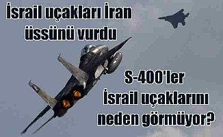 İsrail uçakları, İran üssünü vurdu