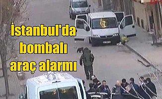 İstanbul'da bombalı araç alarmı: Polis diken üstünde