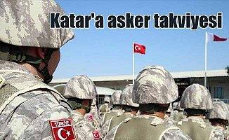 Katar'daki TSK unsurlarına takviye birlik gönderildi