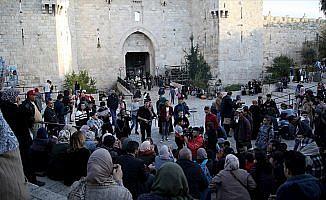 Kudüs'te Trump'ın kararı protesto edildi