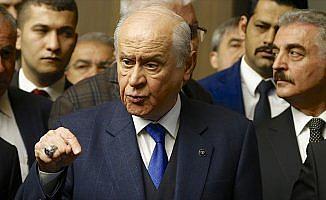 MHP Genel Başkanı Bahçeli: C ittifakı da Türkiye'de mümkün olabilir