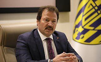 MKE Ankaragücü Başkanı Yiğiner: Şampiyonluktan başka yol gözükmüyor