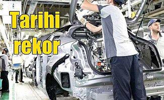 Otomobil üretiminde tüm zamanların rekoru