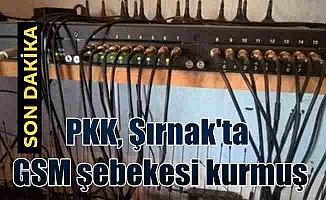 PKK GSM şebekesi kurmuş: Kandil'le haberleşme sistemi bulundu