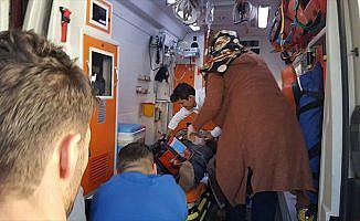 PYD'li teröristler sınırda ateş açtı, bir işçi ağır yaralı