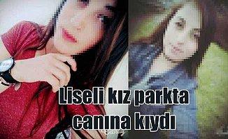 Samsun'da liseli kız, çocuk parkında intihar etti
