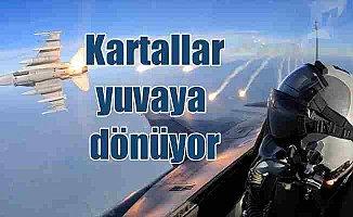 Savaş pilotları yuvaya geri dönüyor
