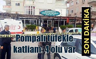 Son Dakika Antalya, Antalya'da garson dehşeti: 4 ölü var