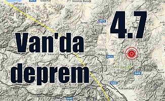 Son Dakika Deprem, Van Başkale'de deprem oldu, 4.7
