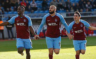 Trabzonspor, Kasımpaşa karşısında farklı kazandı