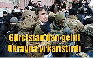 Ukrayna'da Saakaşvili gerginliği: Taraftarları polisin elinden aldı
