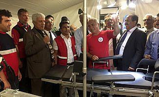 Yemen'de Türk sahra hastanesi açıldı
