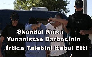 Yunanistan 8 Darbeci Askerden 1'inin Sığınma Başvurusunu Kabul Etti