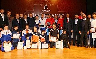 2017 Güreş Başarı Ödülleri Dağıtıldı