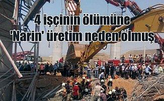 4 işçinin canına mal olan inşaat iskelesi 'Narin' üretilmiş