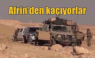 Afrin'de Son Durum, Siviller şehri terk etmeye başladı