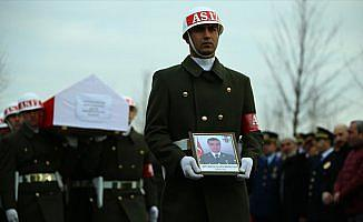 Afrin şehidi Mehmethan son yolculuğuna uğurlandı
